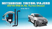 Mann ProVent Catch Can Filter Kit for 2015 Mitsubishi Triton MQ 2.4 Pajero Sport