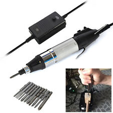 DC Powered Electric Hand Tools Screwdriver 800 + Small Power Supply + 10 Bits