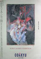 HORST JANSSEN - Odakyu (1991). Ausstellungsplakat / Offset handsigniert.