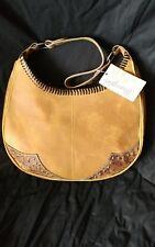 NWT Wrangler Trenditions Sueded Leather Handbag/Purse