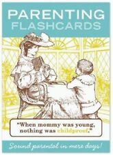 Parenting Flashcards  - speak 'parent' in days : 50 cards and game instructions