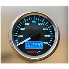 KOSO D48 small Digital Speedometer Speedo MPH/KPH Gauge with speed sensor Blk