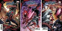 Marvel Gwenom vs Carnage #1 2 3 Comic Set King in Black Tie-in Complete Run NM