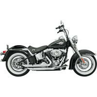 Bassani Chrome Firepower FireFlight Exhaust for Harley Softail Models 86-17