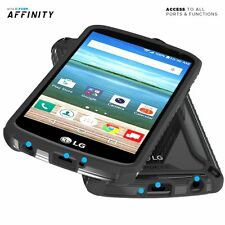 Poetic Affinity Black Thin Bumper Case For LG K4 / LG Optimus Zone 3 / LG Spree