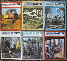 Narrow Gauge & Short Line Gazette magazines year 2007 complete year 6 issues