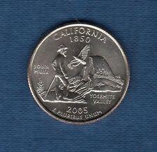 Etats Unis - Quarter Dollar - 2005 California série des Etats Neuve Rouleau