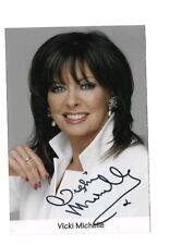 """Vicki Michelle  - """"Yvette """" in BBC  'ALLO 'ALLO Hand Signed Photo 6 X 4"""