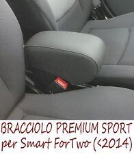 Bracciolo Premium per SMART FORTWO SPORT 450-451 -MADE IN ITALY-appoggiagomito-@