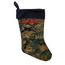"U.S. Marines Junior Marine Christmas Holiday Stocking MARPAT Camo Print 15"""
