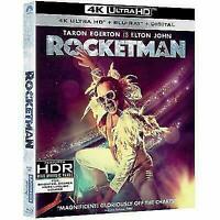 Rocketman (4K Ultra HD + Blu-ray + DIGITAL)  BRAND NEW + FAST SHIPPING