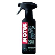 MOTUL E1 MC Care MOTO Wash & Wax Nettoyant sans eau 400 ml