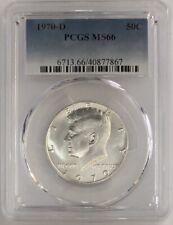 1970 D Kennedy Silver Half Dollar PCGS MS66