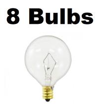 8 Pack Light Bulb for Large Scentsy Wax Diffusers/Tart Warmers, 25 Watt 130 Volt