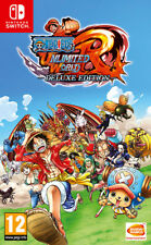 One Piece Unlimited World Red Deluxe Edition Nintendo SWITCH IT IMPORT NAMCO