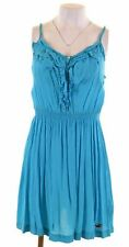 HOLLISTER Womens Sundress Size 16 Large Turquoise Cotton Slim Fit  GP10