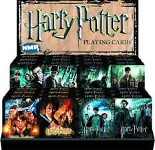 HARRY POTTER MOVIE PLAYING CARD DECKS ASSORTMENT 24 PACKS & DISPLAY  #sdec16-61