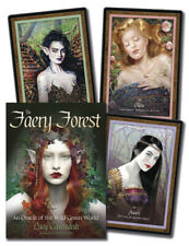 Faery Forest Oracle Fairy Tarot Kit Card Deck of Cards Book Boxed Box Set