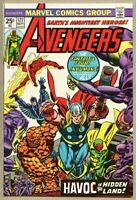 Avengers #127-1974 vf 8.0 Fantastic Four Inhumans 1st Ultron-7
