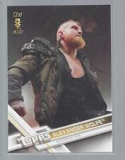 2017 TOPPS WWE #60  ALEXANDER WOLFE                                 50 CENT SHIP