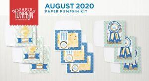 World's Greatest August 2020 Paper Pumpkin Full Kit - See Description