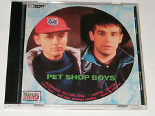 Pet Shop Boys ‎– Rare UK Limited Edition Interview Picture Disc CD