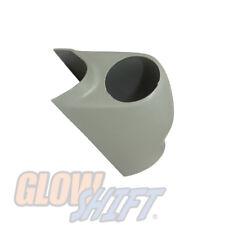 GlowShift Gray Single Gauge 52mm Pillar Pod for 02-07 Subaru Impreza WRX STI