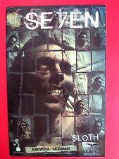 SE7EN #3 SLOTH (NM) DAVID SEIDMAN variant HTF 1st print 2007 Grimm Fairy Tales