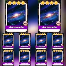 10 x Andromeda :- Coin Master Cards ( Fastest Delivery )