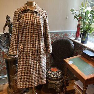 Irish Tweed Long Vintage Coat