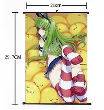 Japan Anime Code Geass Lelouch of Rebellion C.C Home Decor Wall Scroll Poster 02