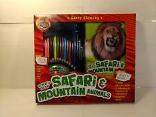 Garry Fleming How To Draw Safari & Mountain Animals Activity Pack t2489