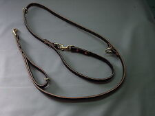 3/4 ALL IN ONE POLICE K-9 LEASH WITH EXTRA HANDLE DOG TRAINING SCHUTZHUND