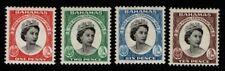 Bahamas 1959 Stamp Centenary SG217-220 MNH
