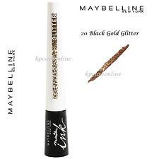 Maybelline New York Master Ink Liquid Eyeliner Glitter - 20 Black Gold Golden
