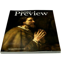 SOTHEBY'S PREVIEW Jan-Feb 2007 Auction Magazine IMPRESSIONIST MODERN OLD MASTER+