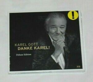 2 x CD: Karel Gott - Danke Karel - Deluxe Edition - Digipak