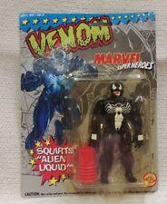 """New 1993 Toy Biz Super Heroes """"Venom"""" Squirts Liquid Marvel Comics 180461"""