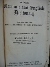 A New German English Dictionary compiled from the best Authorities