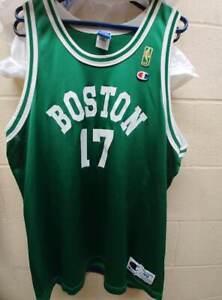 Vintage Rare John Havlicek Size 48 Boston Celtics NBA 50th Gold Champion Jersey