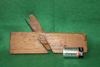 """Antique Vintage Handmade Early 1800's 3/8"""" Round Moulding Plane Inv#PD03"""