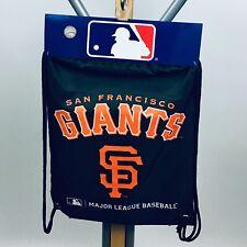 San Francisco Giants Concept One Mlb Licensed Nylon Drawstring Back-Sack Black