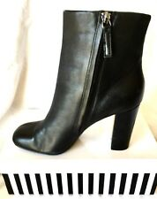 DAVID LAWRENCE STUNNING LEATHER ANKLE BOOTS, SZ 39 (7.5-8),VGC COND RRP $249.95