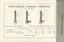 E. Beretta Firenze Tubi Mannesmann di Piombo Catalogo 1933