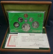 1979 SINGAPORE PROOF SET WITH BOX & COA