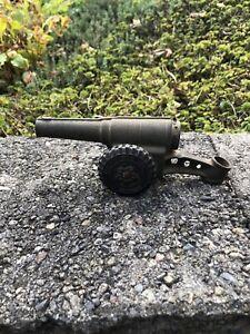 Premier Cast Iron Big Bang Carbide Cannon 60mm Rare Collectible Vintage 1960s