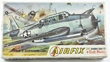 Airfix T.B.M.3 AVENGER 1/72 scale Airplane Model Kit  New in Box C76 PM
