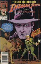New listing Indiana Jones and the Last Crusade Movie Adaptation #1-4 1989 Marvel Comics