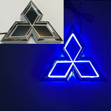 5D LED Car Tail Logo Blue Light for Mitsubishi Outland Lancer Auto Badge Light