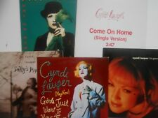 ★ Lot CD Single RTL ★ CYNDI LAUPER : 5 x CD with PROMO & GIRLS JUST WANT (2)